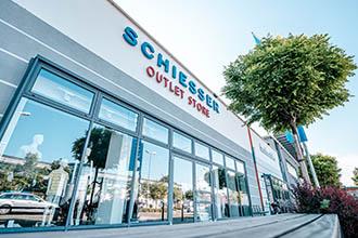 Bild vom Schiesser Outlet Store von außen